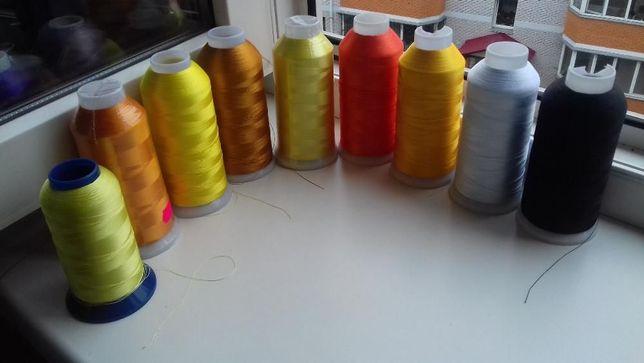 нитки вышивальные
