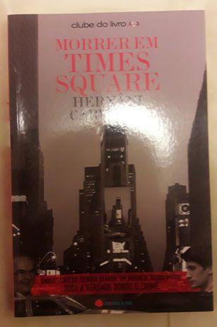 """Livro """"Morrer em Times Square"""""""