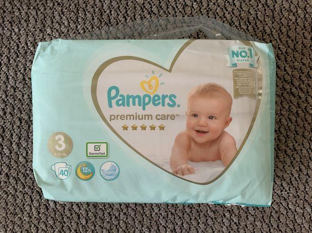 Продам Pampers Premium care 3/40 шт