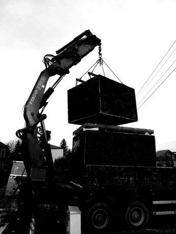 Zbiornik betonowy na szambo kanał samochodowy(4m) piwniczka deszczówka