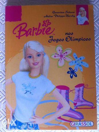 Livro Barbie Jogos Olímpicos