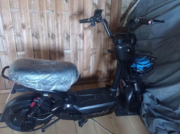Electric Bicycle and Halmet