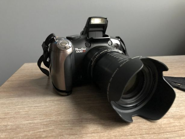 Aparat cyfrowy kompaktowy Canon PowerShot SX20 IS OKAZJA GRATISY!