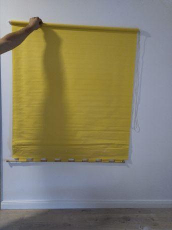 Rolety żółte 2 szt