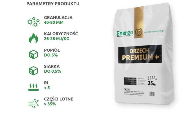 orzech premium węgiel Suchy Wydajny pakowany worki 25kg