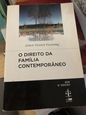 O Direito da Familia contemporâneo Jorge Diarte Pinheiro