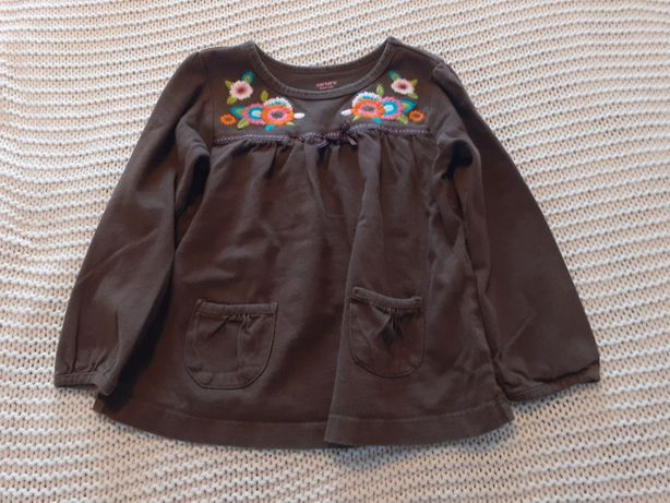Bluzka bluzeczka Carter,s roz. 3 lata 98 z wyszywaną aplikacją