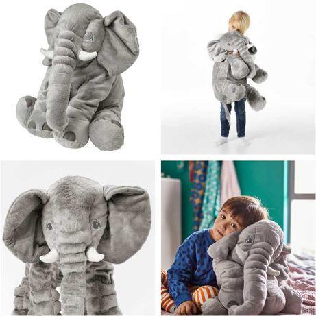 Плюшевая игрушка Слон 60 см IKEA - детская мягкая серая
