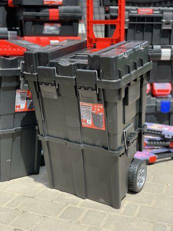Ящик для инструмента на колесах HAISSER HD Compact Logic  2 в 1