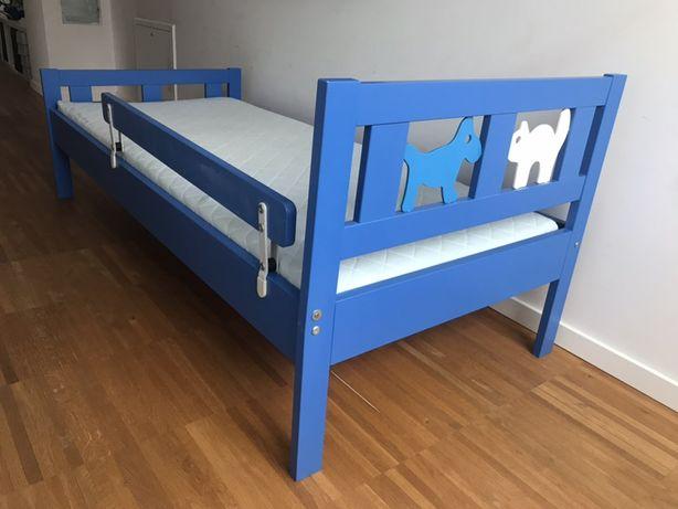 Łóżko dla dziecka + materac (IKEA)