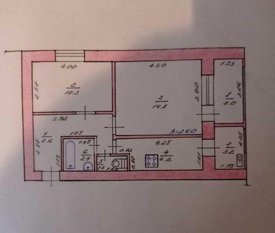 Своя 2к квартира с погребом и гаражом