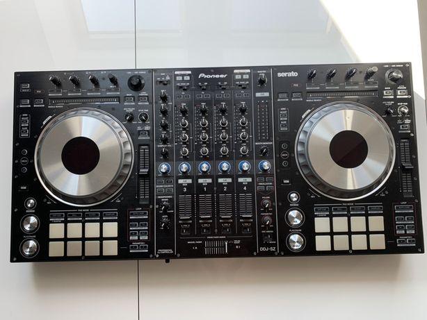 Kontroler Pioneer DDJ-SZ, Serato DJ + Case, jak nowy