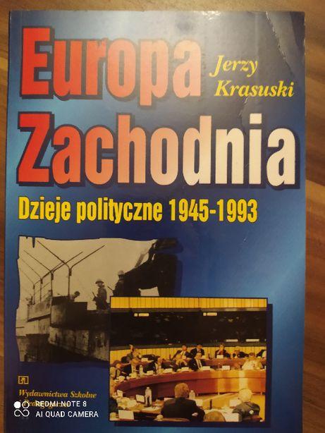 Europa Zachodnia. Dzieje polityczne od 1945 do 1993. J.Krasuski