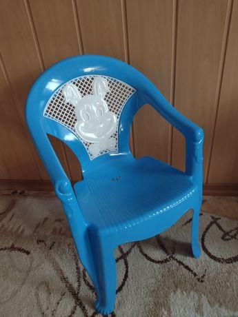 Стільчик-крісло дитячий, пластик