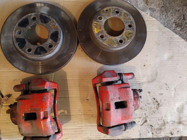 Суппорта передние и тормозные диски 626 ge