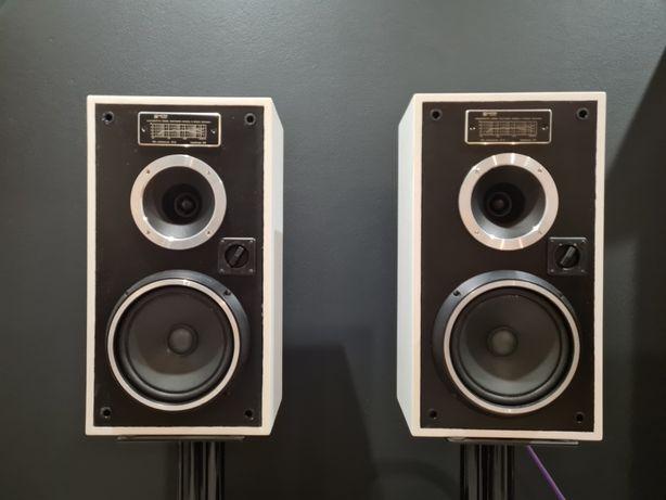Piękne kolumny głośniki UNITRA TONSIL Zg30c białe 8ohm