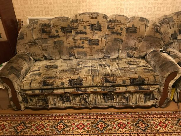 Диван+кресло вместе
