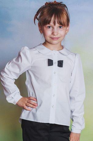 Блузка школьная,рост 134