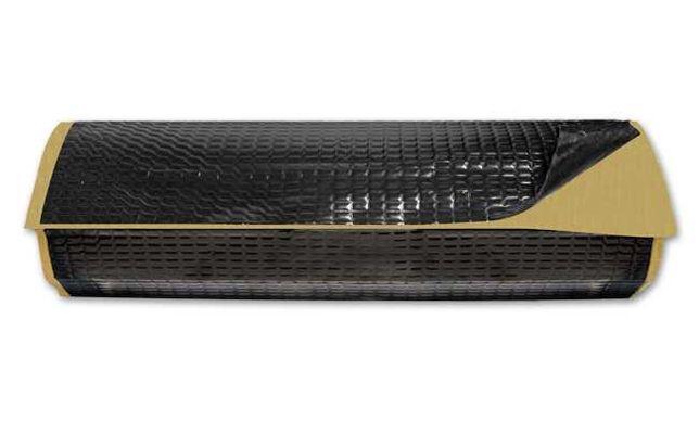 Mata alubutylowa butylowa czarna 2,5mm 4m2 wygłuszająca