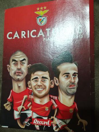 Coleção de caricaturas Benfica