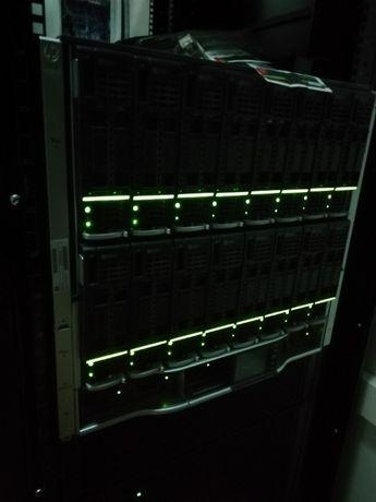 Сервер блейд HP BLc7000