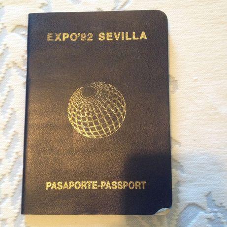 Passaporte Expo 92 SEVILLA