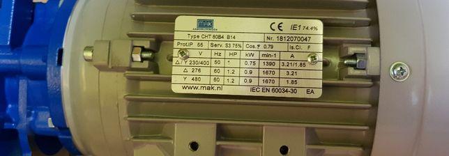 Silnik elektryczny motoreduktor Motovario  0,75 kW 1:100, 1:30, 1:20