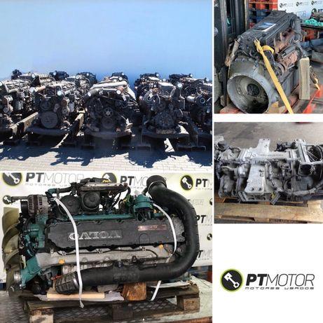Motores e Caixas de Pesados Camiao