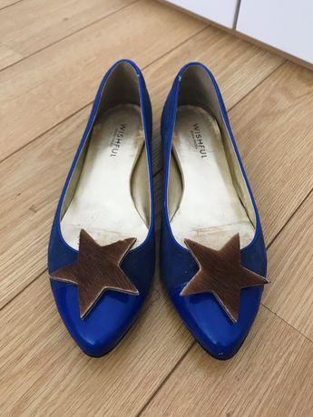 Sapatos azuis Wishful (38)