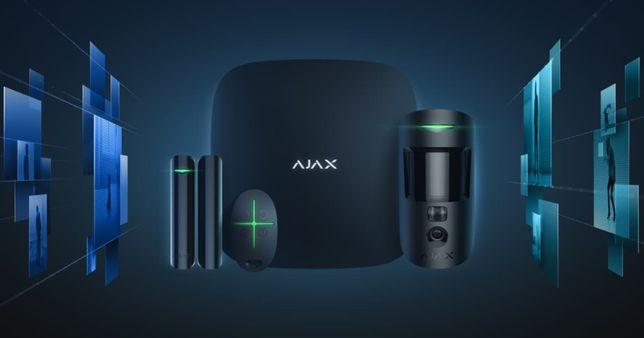 Сигнализация Ajax StarterKit Cam