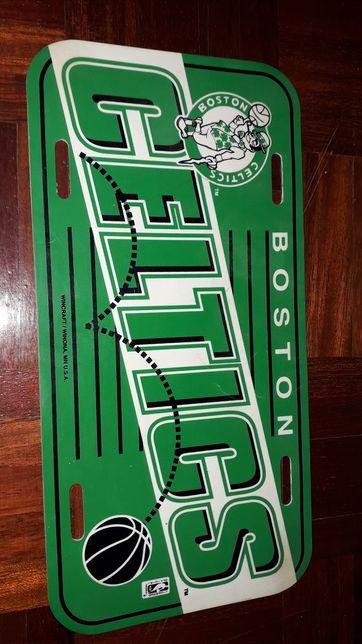 Placa de parede Boston Celtics original