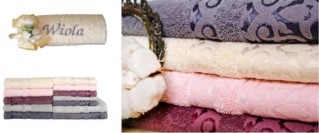 Ręczniki, komplet ręczników z haftem, prezent na ślub, wesele
