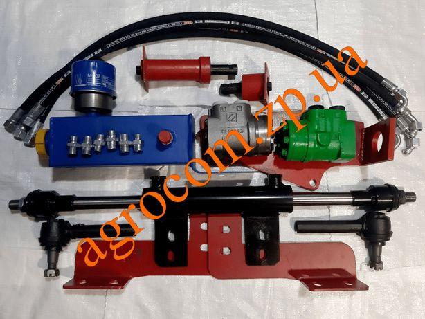 Комплект рулевого переоборудования под насос дозатор ЮМЗ-6, Д-65, МТЗ.