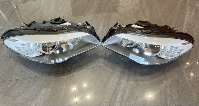 BMW f10.f11 2012 r.kompletne lampy przednie xenon dynamic skrętne