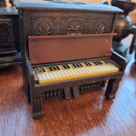 точилка для карандашей ретро Пианино бронза миниатюра Германия