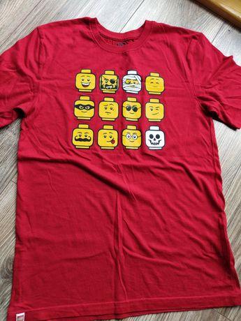 Koszulka LEGO czerwień 146cm