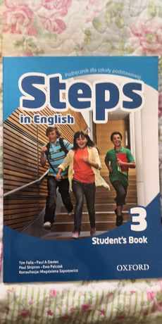 Steps in English 3 Student's book angielski oxford