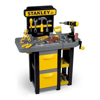 Игровой набор Smoby Stanley Jr Мобильная мастерская 360317
