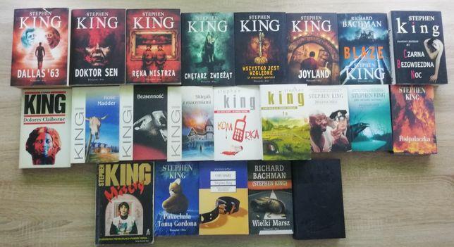 Mega zestaw 22 ksiażki Stephen King horror dużo czytania wysyłka