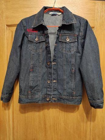 Tom tino подростковая джинсовая куртка, джинсовка на рост 134/140