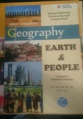 Podręcznik i zeszyt ćwiczeń Earth&People