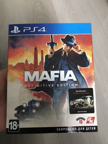 Mafia. Definitive Edition PS4