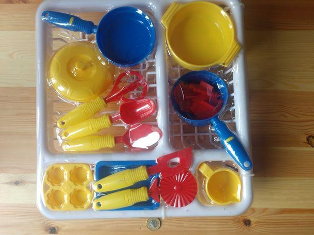 Nowy zestaw+1zł przesyłka, naczynia kuchenne
