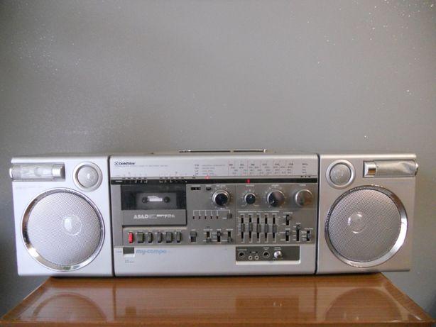 Gold Star TSR 950 bombox ghettoblaster Vintage design lata 80
