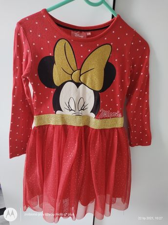 Sukienka Disney rozmiar 110