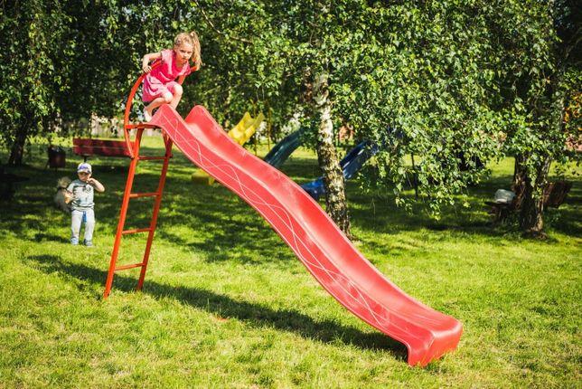 Детская горка 2,2м с металлической лестницей высота 1,2 м