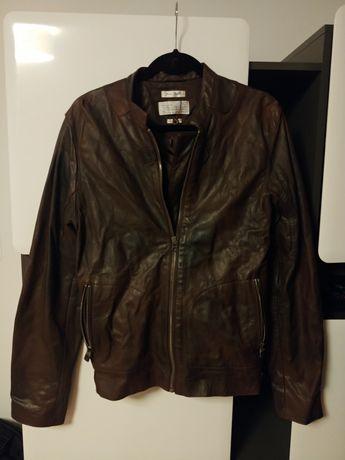 Kurtka skórzana 100% Ducati leather jacket Rozmiar M