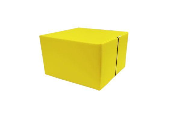Piankowa pufa dla dzieci 50x50x31cm