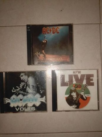 Lote CDs AC/DC - Eastwest Records