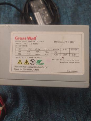 Блок питания GWH ATX-350SP